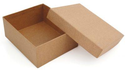 """Caisse en carton ondulé """"boite cloche"""""""