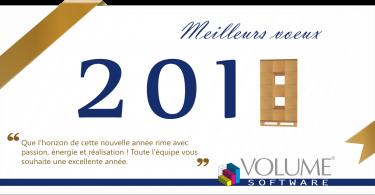 Volume Software carte vœux 2018